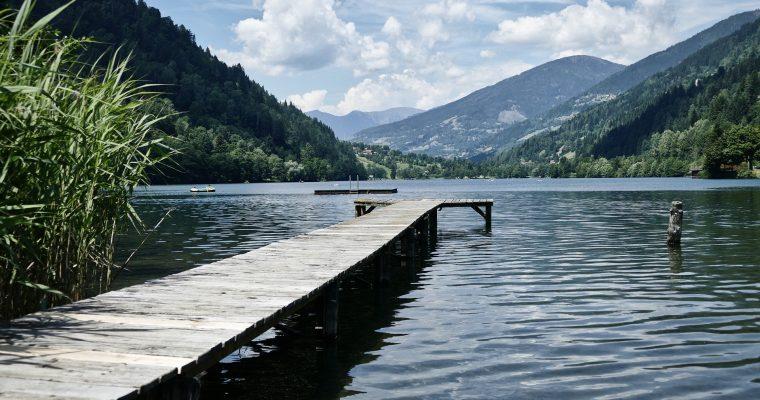 Klar, klarer, Badeseen in Österreich